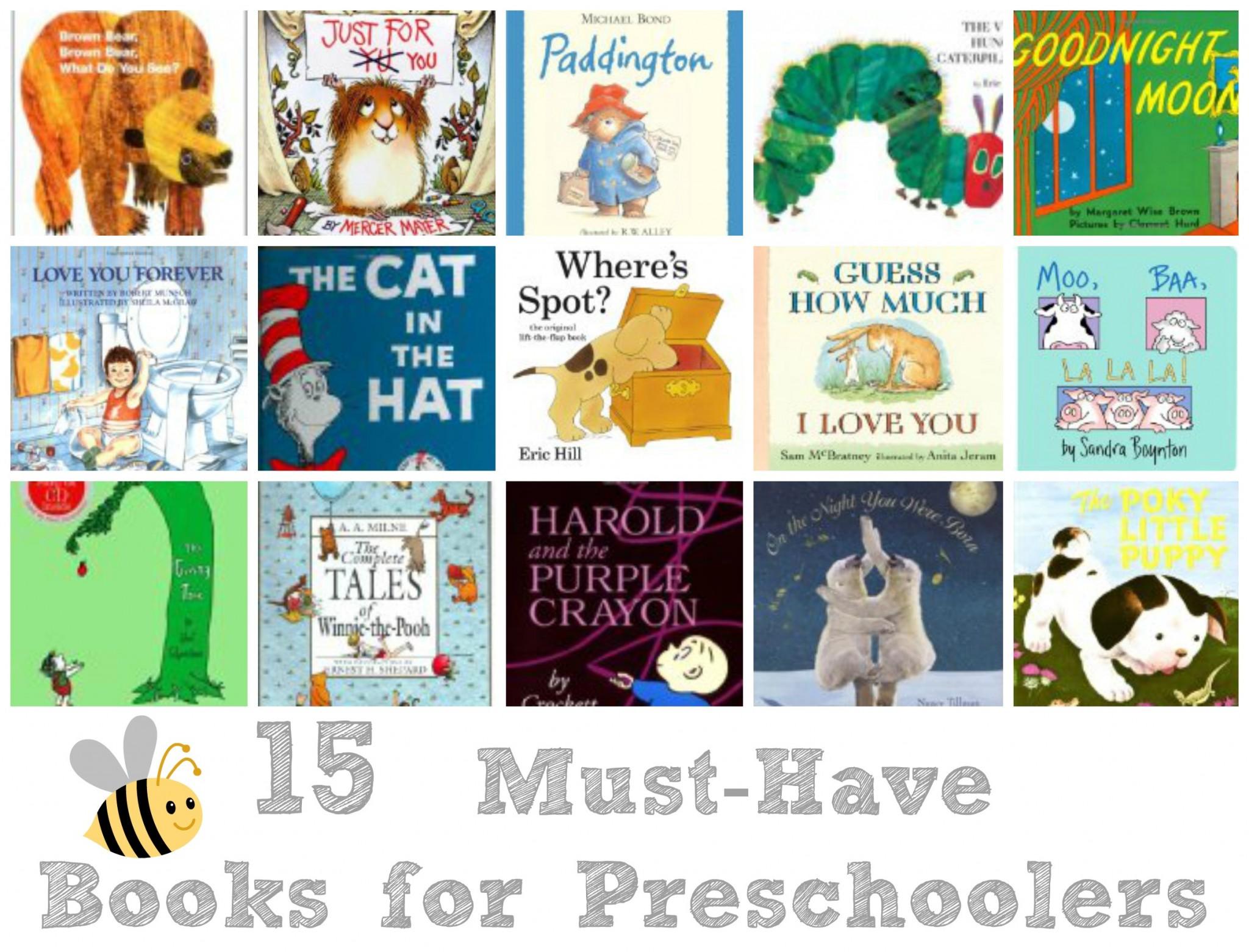 15 must have books for preschoolers life love liz
