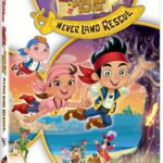 Jake And Neverland Pirates NeverLand Rescue DVD