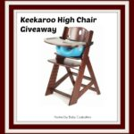 keekaroo high chair giveaway