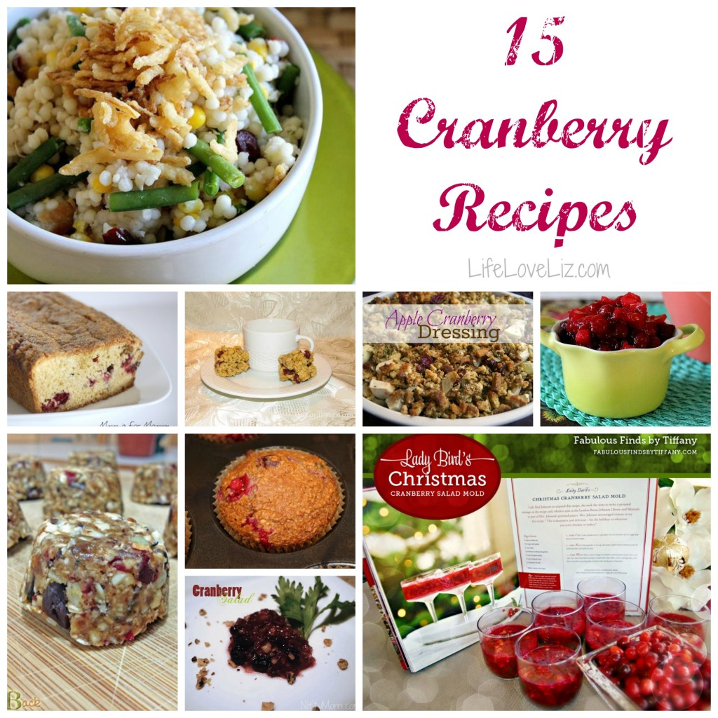 15 Cranberry Recipes