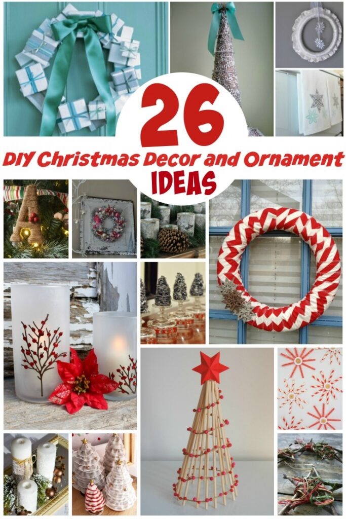 Diy Christmas Tree Table Decoration : Diy christmas decor and ornament ideas life love liz