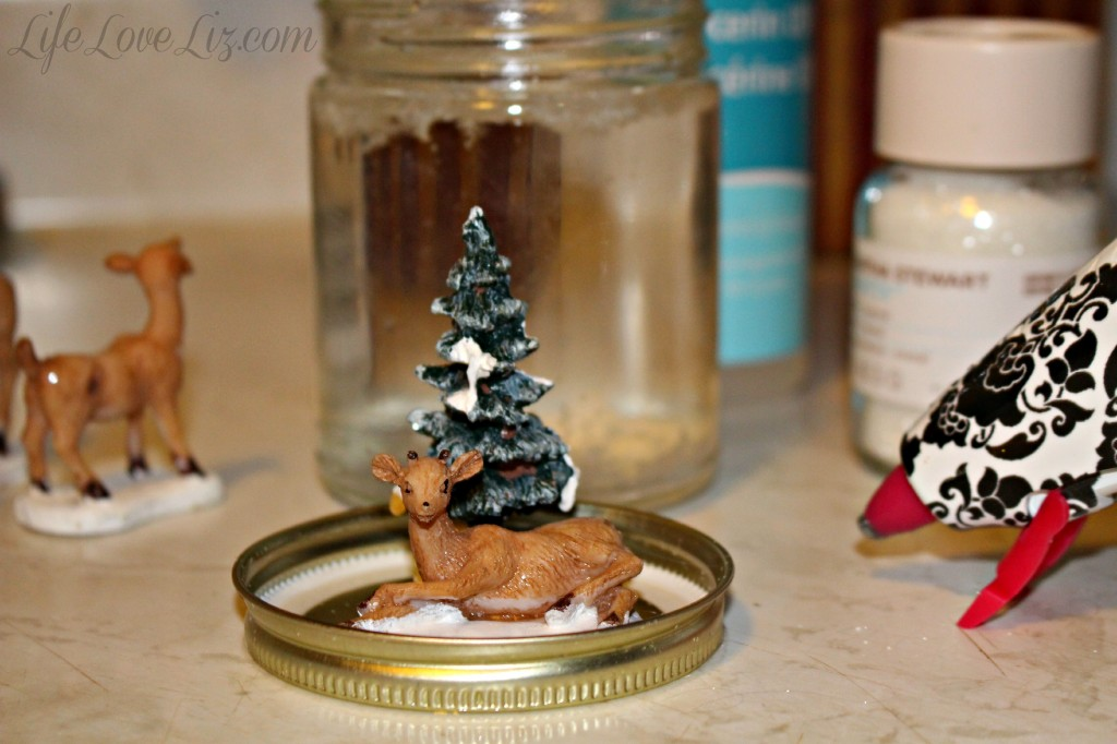 how to make a homemade snow globe life love liz