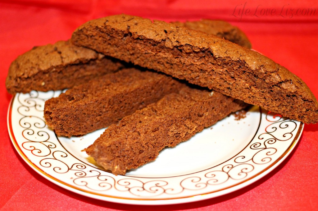Chocolate Cake Mix Biscotti