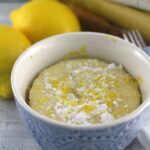 Lemon Mug Cake Recipe