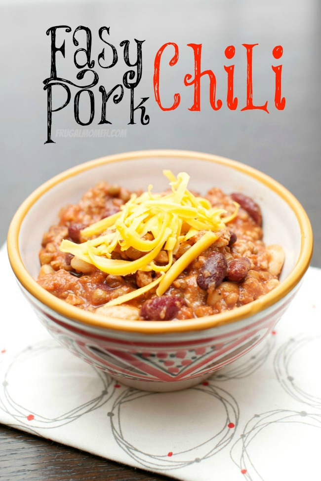Easy Pork Chili Recipe