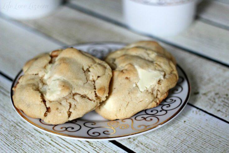 White Chocolate Chunk Cookies