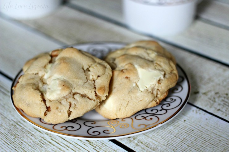 White Chocolate Chunk Cookies - Life Love Liz