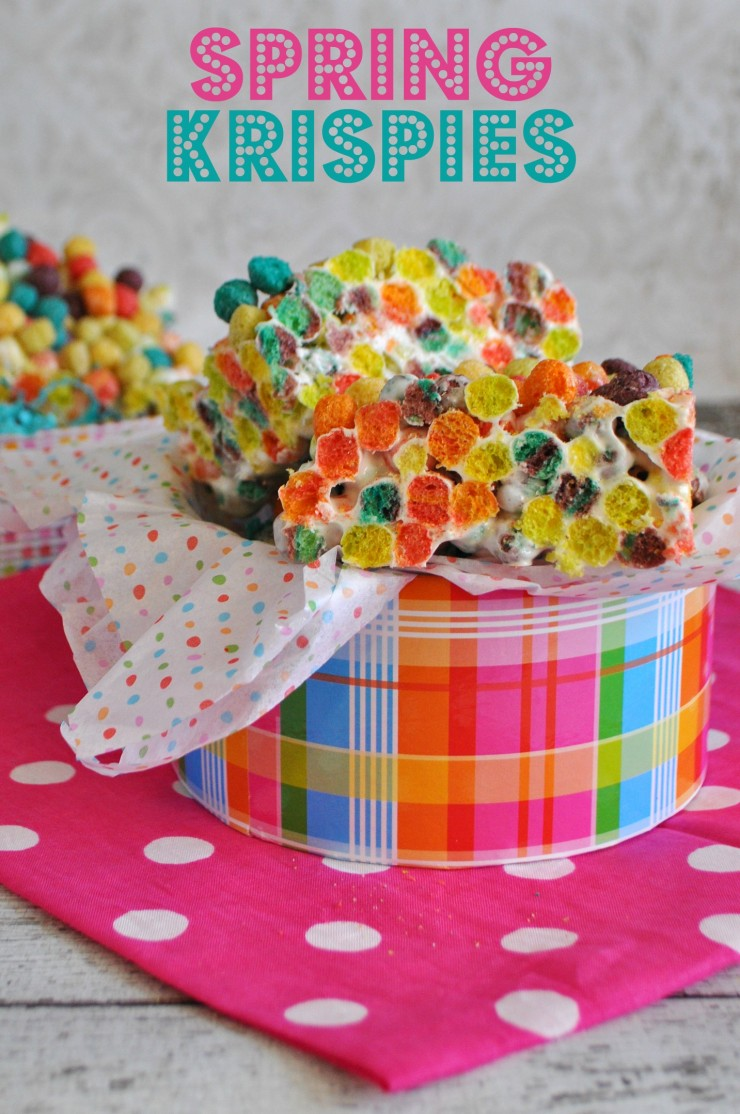 Spring Krispies Recipe