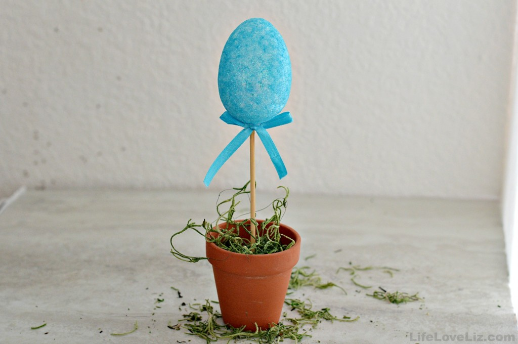 Egg Plant Dollar Tree Easter Craft