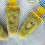 Kiwi Popsicles are a fun and fruity frozen summer treat kids and adults will enjoy alike!
