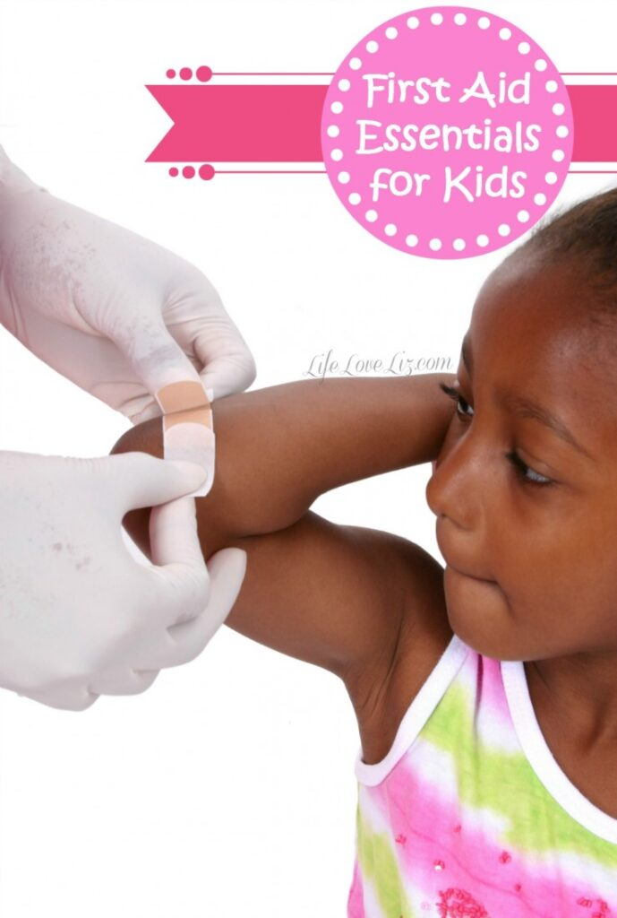 First Aid Essentials for Kids - everything you need to know about first aid essentials for families and kids.