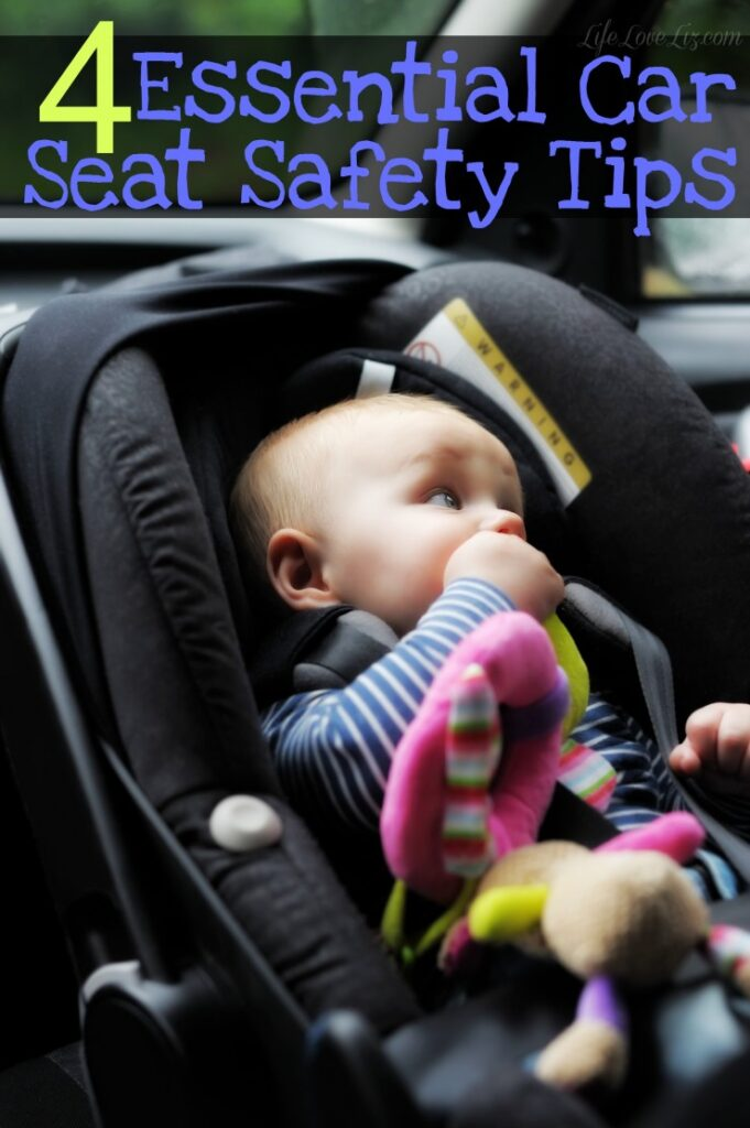 4 Essential Car Seat Safety Tips to keep your baby safe on the road