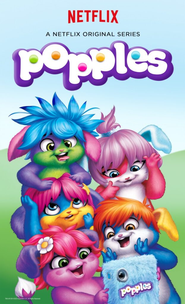 Popples Netflix Key Art -Final