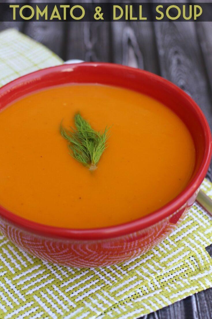 Tomato & Dill Soup