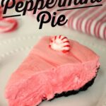 Frozen Peppermint Pie is a unique frozen dessert perfect for Christmas dinner and winter get-togethers.