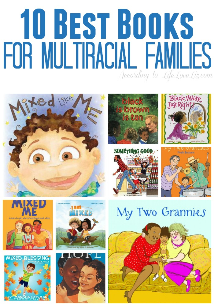 10 Best Books for Multiracial families