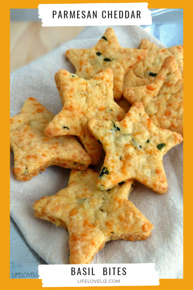 Looking for an addictive snack or appetizer? These Parmesan cheddar basil bites are a real crowd pleaser and so easy to make!