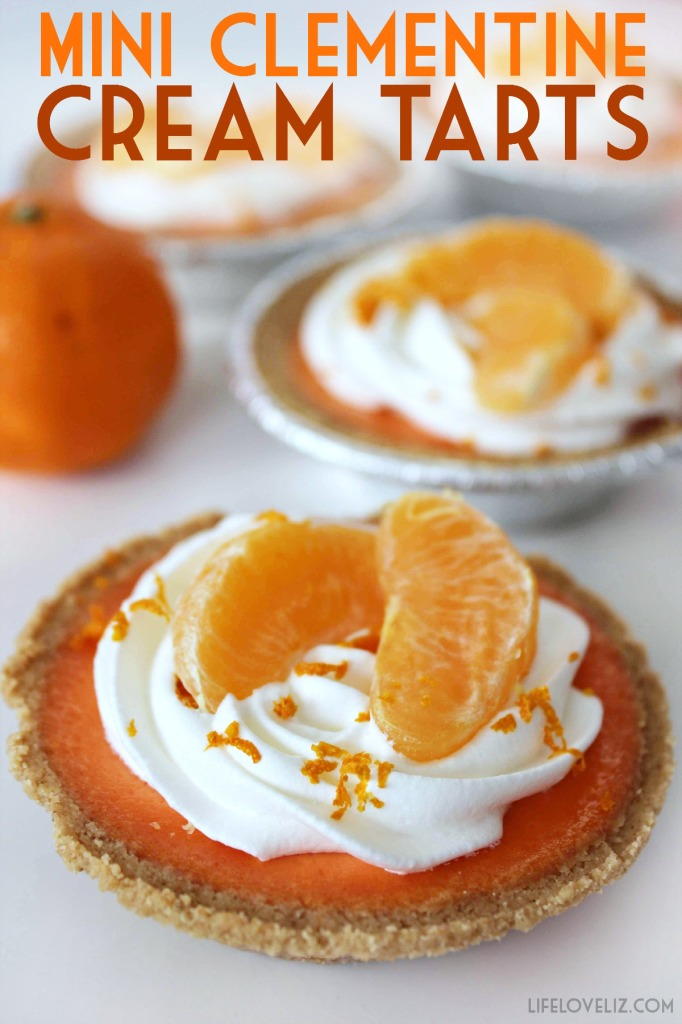 These Mini Clementine Cream Tarts feature a homemade clementine curd that is full of the memories of summer! This recipe is definitely a keeper!