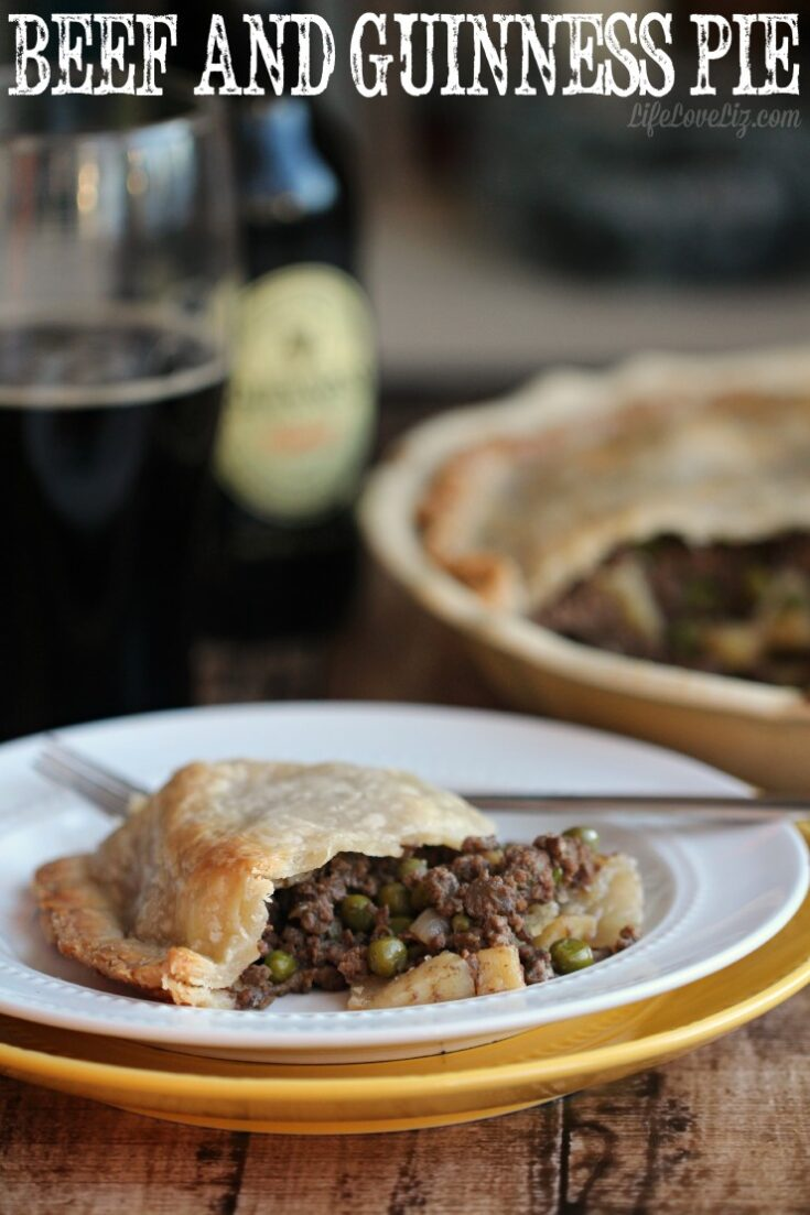 Beef and Guinness Pie