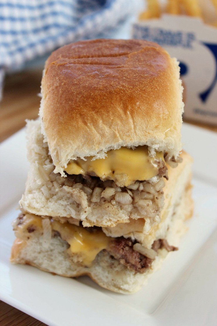 Copycat White Castle Sliders that taste so authentic you'll be looking around for Harold and Kumar.