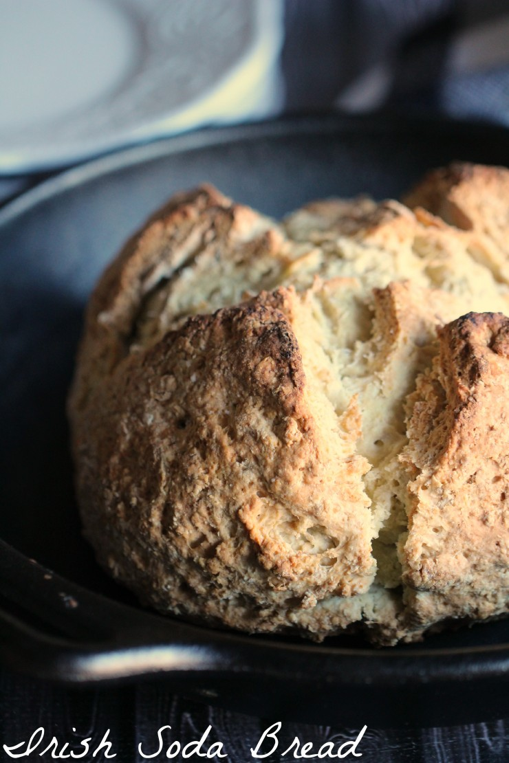 Celebrate St. Patrick's Day with this amazing Irish Soda Bread recipe~