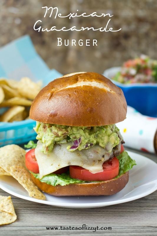 Mexican-Guacamole-Burger-A-burger-with-Mexican-seasoning-and-homemade-guacamole