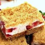 Frozen Strawberry Crunch Bars