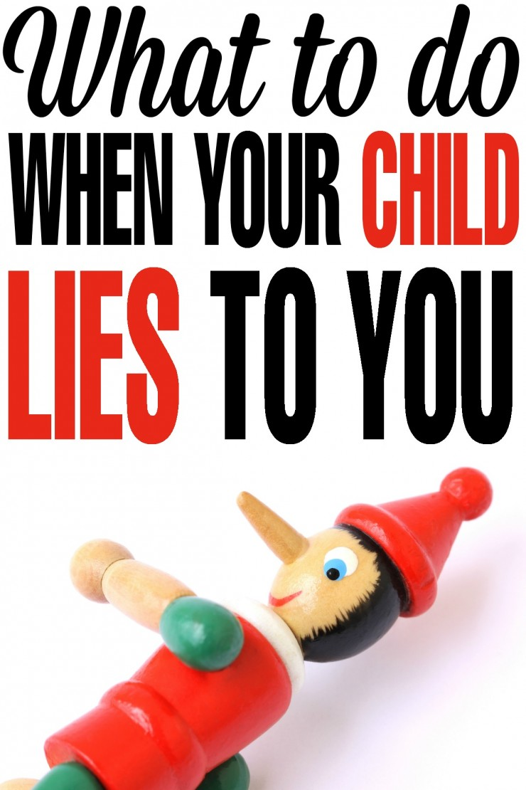 what to do with a child that lies