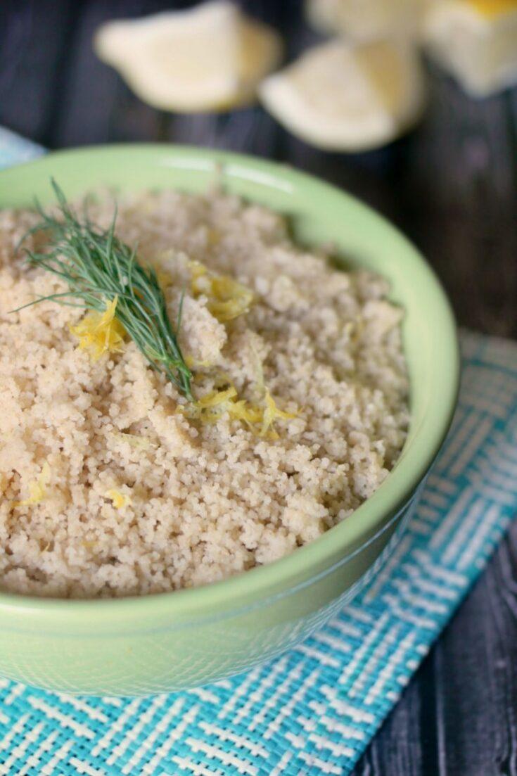 Lemon Dill Couscous