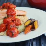 Salmon with Dilled Tomatoes