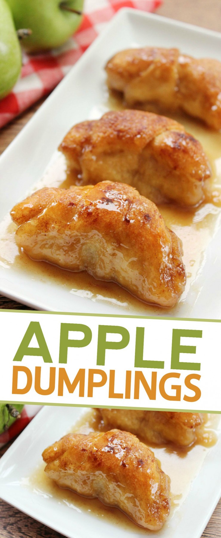 These Apple Dumplings are comforting, flaky and sweet - who knew Mountain Dew could be used to make such an amazing dessert?