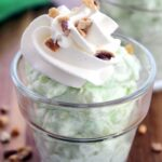 This Watergate Salad is a popular choice for picnics and summer bbq parties.  It