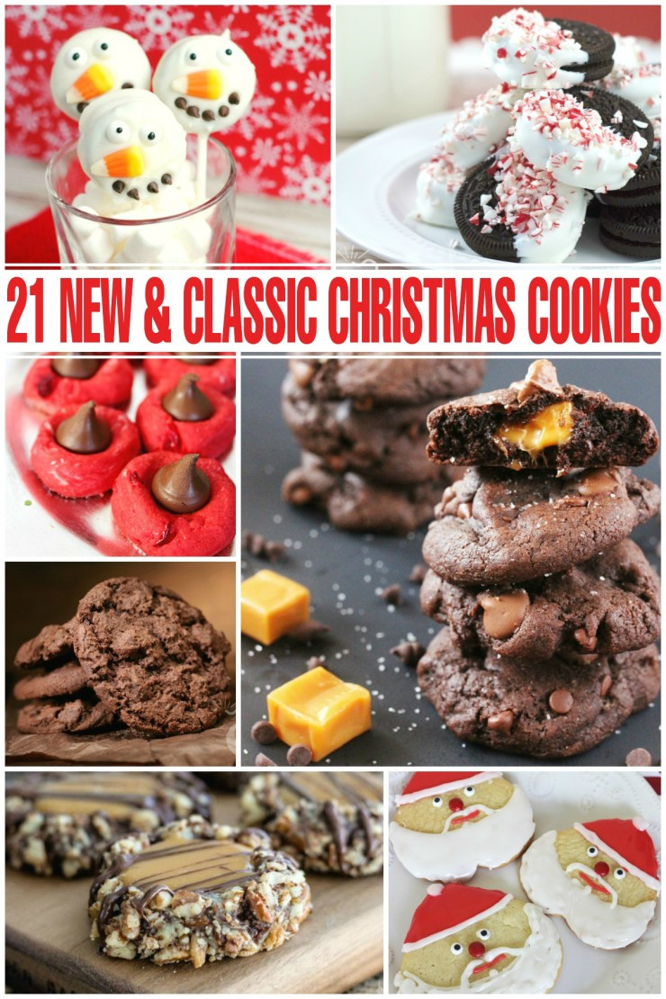 21 New & Classic Christmas Cookies