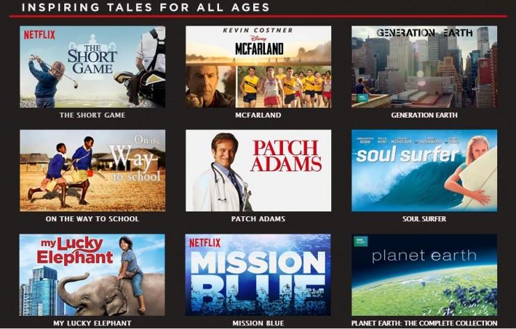 Inspiring Netflix Titles