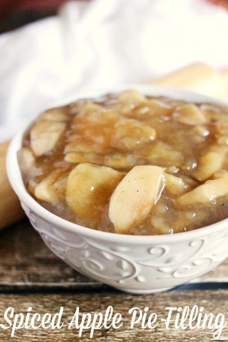 Spiced Apple Pie Filling