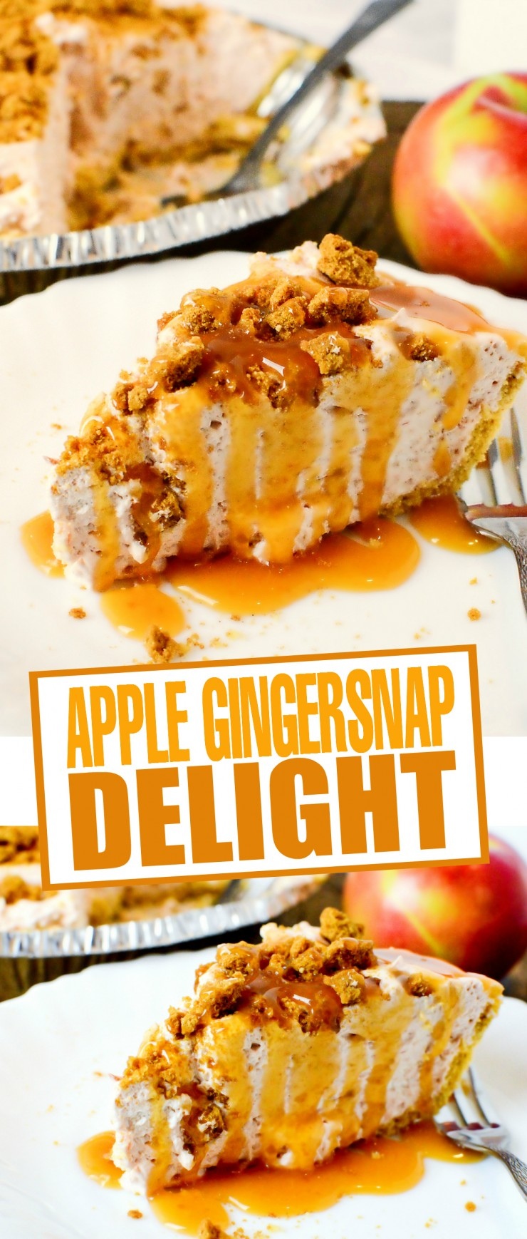This Apple Gingersnap Delight recipe is easy and full of incredle flavours, it's also a versatile dessert - add in cream cheese and make it a Apple Cheesecake Gingersnap Delight!