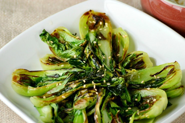 This Braised Garlic Bok Choy is a delicious asian inspired side dish your family will love.