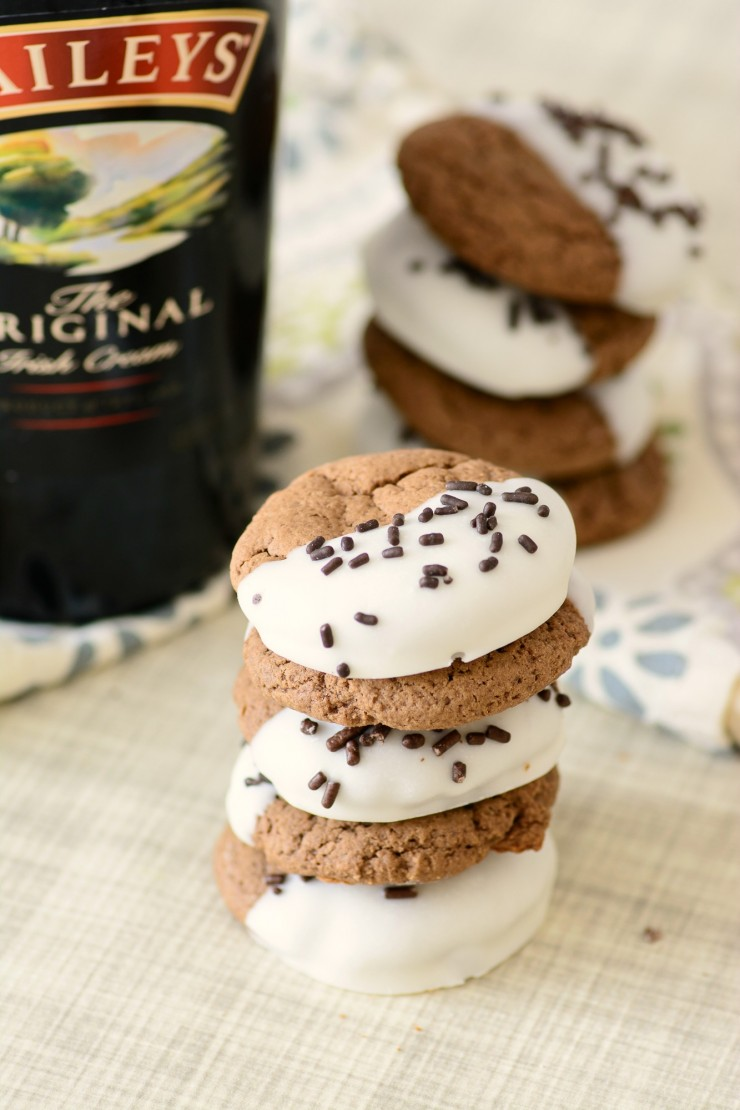 This is absolutely the best Bailey's Chocolate Dipped Cookies Recipe ...