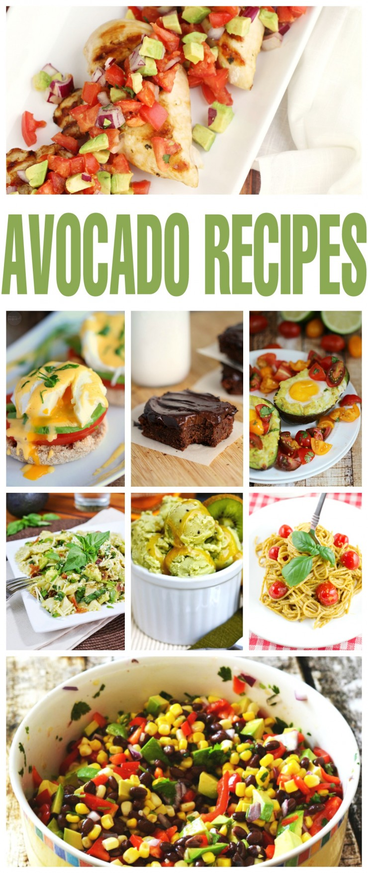Check out these unforgettable 30+ Unusually Good Avocado Recipes. Ever tried an Avocado milkshake or a fudgy avocado dessert? These are recipes for Avocado lovers!