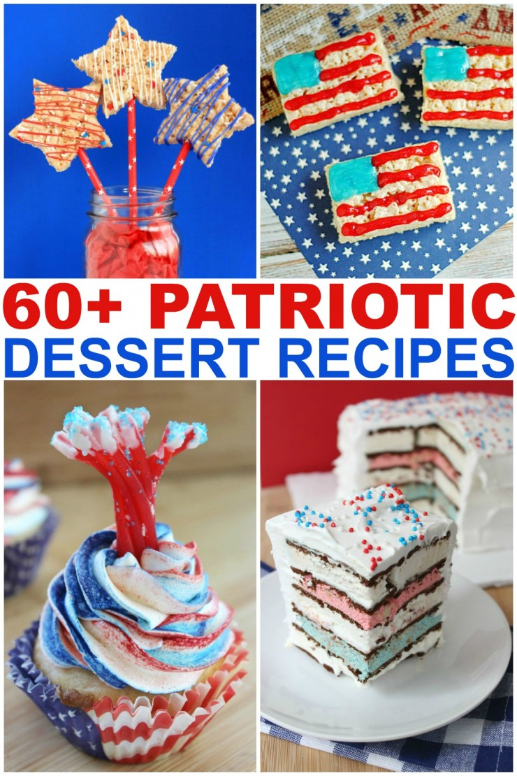 If you are looking for patriotic desserts this summer, I've got a recipe or two that you can whip up in your kitchen and impress your guests when entertaining at any summer cookout this year.