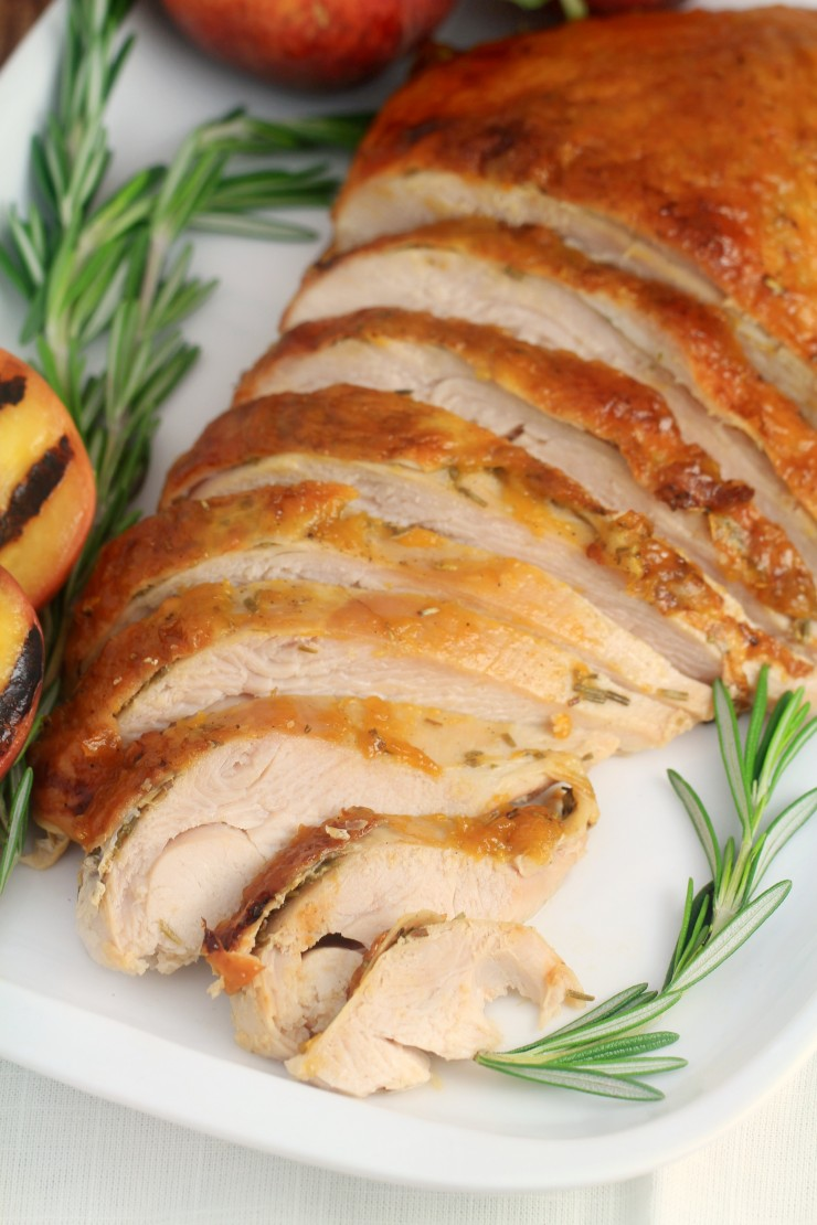 roasted-turkey-with-peach-glaze 3