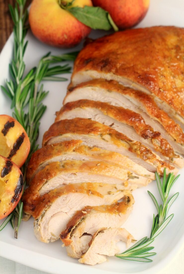 Peach-Glazed Roasted Turkey Breast