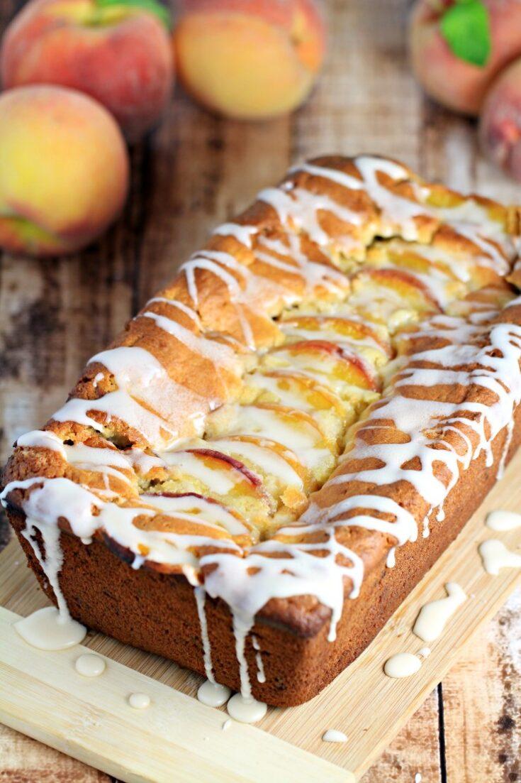 Pecan & Peach Quick Bread