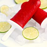 Raspberry Lime Ice Pops