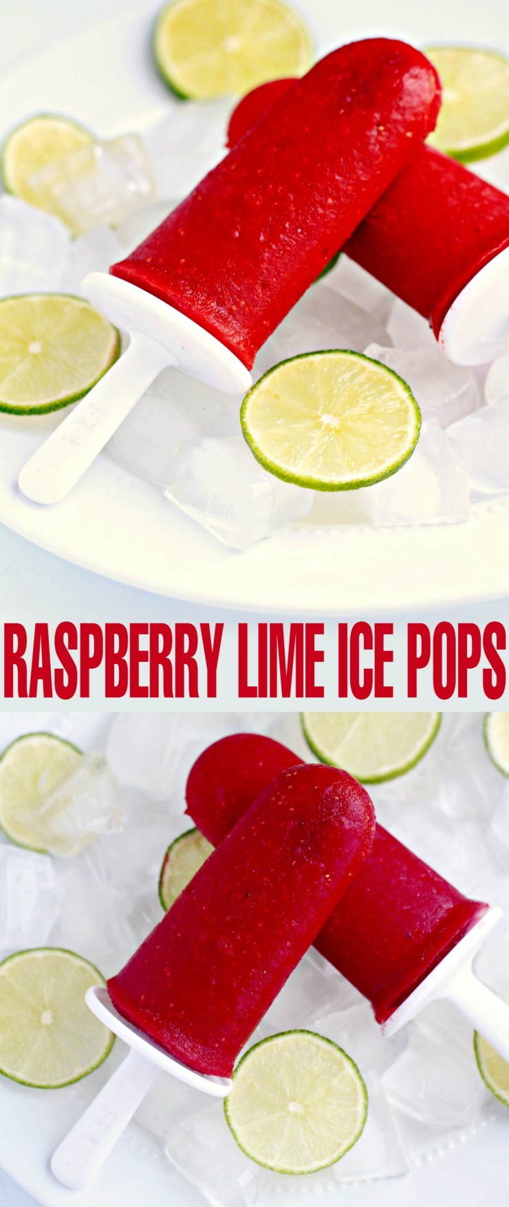 Cool off with these sweet and tangy summer treats full of raspberry flavour with a subtle hint of lime. This Raspberry Lime Ice Pop Recipe is sure to be a hit!