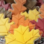 These autumn leaf cookies are almost too pretty to eat. Thankfully these sugar cookies are so delicious and full of flavour you won