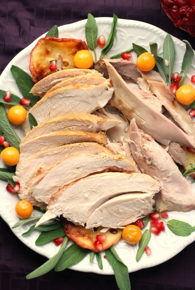 Sage & Apple Brined Turkey