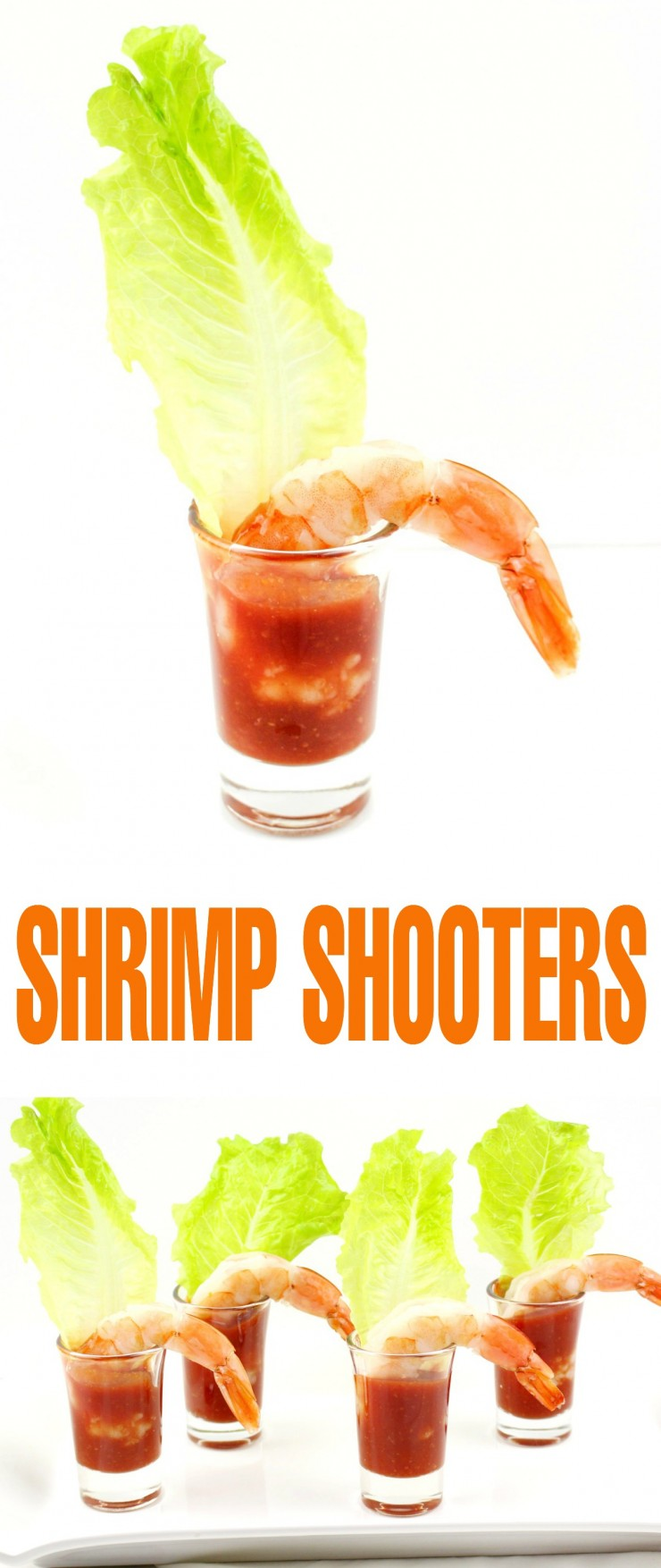 These easy shrimp shooters make for a simple to put together appetizer. Think single serve shrimp cocktails that are as easy to eat as they are to prep.