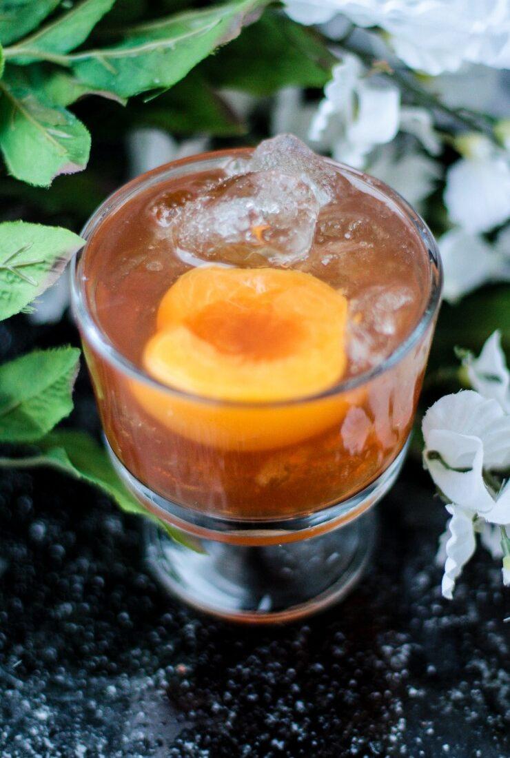 The Peach Praline Cocktail