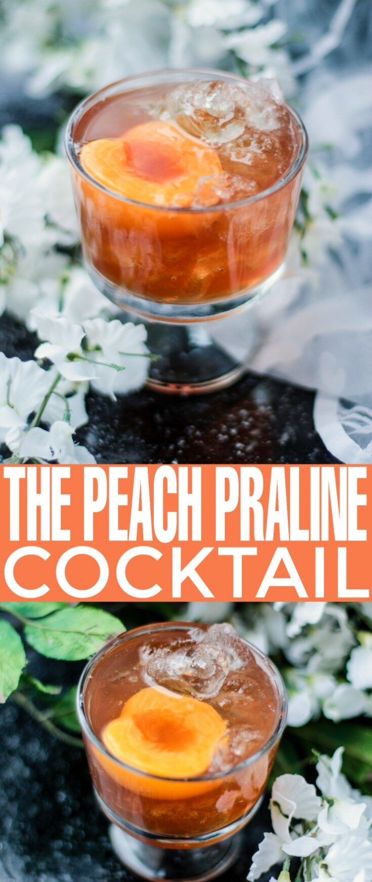 The Peach Praline Cocktail